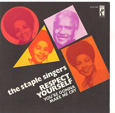 THE STAPLE SINGERS - RESPECT YOURSELF -  SOLO COPERTINA- ONLY COVER MINT