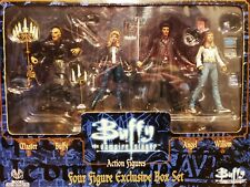 Moore Action Collectables Buffy The Vampire Slayer Exclusive Box Set 4 figures