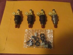 SET OEM 92-98 SUZUKI SIDEKICK GEO TRACKER FUEL INJECTORS - CLEANED & FLOW TESTED