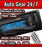 Car NON CD Stereo Head Unit iPod,iPhone,MP3 Player,USB,SD Card,3.5mm AUX,Radio