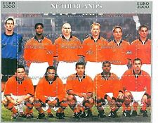 FOOTBALL - STAMPS: Kirghizistan - EURO 2000: HOLLAND