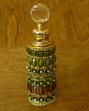 Welforth Enameled Perfume Bottle #PB1142 MULTI COLORED STONES, From Retail Store