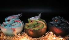 Rare Baby Dragon Egg in 3 color sculpture Chinese artist Model Figure Collector