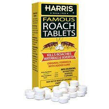 Harris MEGA BOX Famous Roach Killer Tablets  - EPA Approved - SAME DAY SHIPPING!