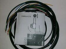 IMPIANTO ELETTRICO ELECTRICAL WIRING MOTO PARILLA 175 CON SCHEMA ELETTRICO