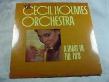 The Cecil Holmes Orchestra - A Toast To The 70's - Sealed New -