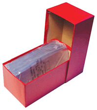 """Box For Large Size Currency Banknotes Size 8 3/8"""" x 4"""" x 3 11/16 Durable Storage"""