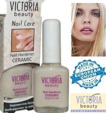 Victoria Beauty Nail Care Ceramic Hardener 12ml CALCIUM GEL Regeneration repair