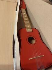 beluga Spielwaren rote Kindergitarre :) kleine Gitarre aus Holz