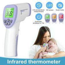 Digital Fieberthermometer Stirnthermometer Infrarot Kontaktloses Baby Erwachsene