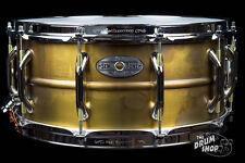 Pearl 14'' x 6.5'' Sensitone Premium Beaded Brass Snare Drum