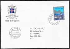 Iceland 'ISLAND' First Day Cover 1973 - Stamp sg515