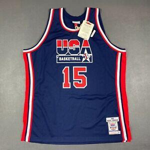 100% Authentic Magic Johnson Mitchell & Ness 1992 USA Jersey Size 52 2XL Mens