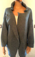 Gilet 1 bouton Jubylee by feminine Uni Gris Taille Unique Neuf !!!