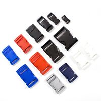 Buckle Plastic Clip For Craft Webbing Paracord Bag Strap Many Colours Sizes