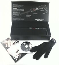 CURLING IRON WAND Ginalli Milano for Short Hair/Ringlets 13mm Sm. Gift Set $300