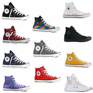 Converse Chuck Taylor All Star Hi Damen-Sneaker Chucks Turnschuhe Hi-Top Schuhe