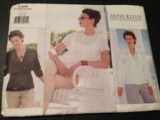 Uncut Vogue 2308 Sewing Pattern, Misses' Blouse & Top, Anne Klein, Size 12-14-16