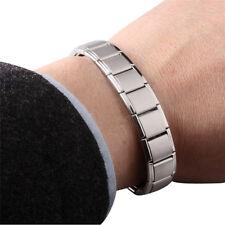Mode Punk Magnet Germanium Gezondheid Titan Gesundheit Armband Armreifen
