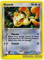 Meowth 013 Holo Rare Nintendo Black Star Promo Pokemon Card NM+