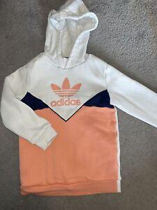 Girls Adidas Jumper Hoodie Size 4-5 Years