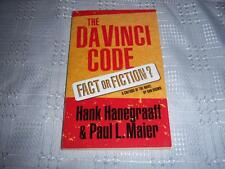 The Davinci Code ( Fact or Fiction ) By Hank Hanegraaff & Paul L.Maier Book