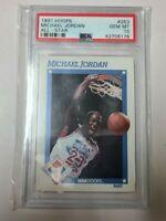 1991 Hoops All-Star Michael Jordan #253 PSA 10 GEM MINT LOW POP
