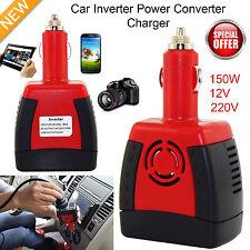 150 W AC Voiture Puissance 12 V DC + 220 V Convertisseur de tension avec USB Prise UK