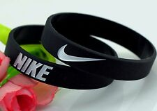 Nike Black White Oreo Elite Baller band rubber bracelet wristband BEST RATED