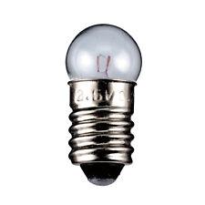 10 Stück | Kugelförmige Lampe | E10 Sockel | 6 V | 50 mA | 0,3 W