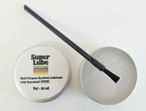 Synco Super Lube Multi-Purpose Synthetic Grease with Syncolon ( PTFE ) + Brush