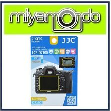 JJC LCP-D7100 Screen Protector for Nikon D7100 D7200 (2pc Pack)