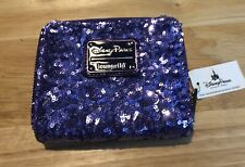More details for disney loungefly purple potion sequin wallet purse bnwt