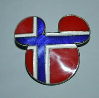 Disney Epcot World Showcase - Mickey Head & Ears (Norway) Pin 1838