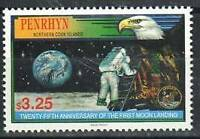 Penrhyn Stamp - First Moon Landing, 25th anniversary Stamp - NH