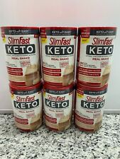 Slim Fast Keto  Meal Replacement Shake Vanilla Cake Batter 12.2 OZ Lot of 6