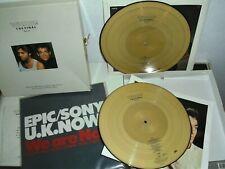 WHAM The Final Box Set Vintage 1986 Gold Vinyl + Promo LP Japan ( George Michael