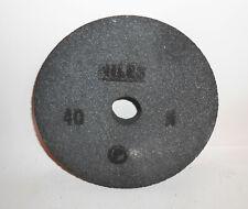 Schleifscheibe Körnung 40 N Niles DDR Ø 20 cm Lagerware Schleifbockscheibe