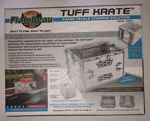 Tuff Krate Crate Flambeau Kayak Tackle Storage Solution Holder Box New