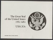 #U602 20c Great Seal Envelope Publicity Photo  Essay