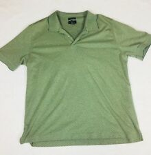 Van Heusen Golf Short Sleeve Green Polo Shirt Mens XXL MICRO PIMA