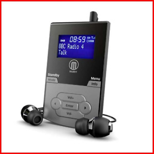 Majority Petersfield DAB/DAB+ Digital FM Rechargeable Battery Personal Portable