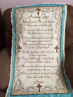 PANEL OF  AMAZING GRACE QUILTING TREASURES CHRISTIAN  SONG COTTON FABRIC