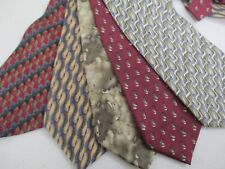Vintage Jerry Garcia Tie Neckties Lot of 5 56""