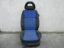 Fahrersitz klappbar VW Lupo Sitz Ausstattung dunkelgrau / blau