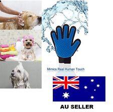 Dog Brush Grooming Deshedding Cleaning Brush Magic Glove Dog Cat Groomer Hair Au