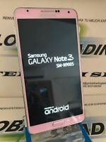 SAMSUNG GALAXY NOTE 3 N9005 4G 32GB ROSA LIBRE USADO GRADO A IMPECABLE ESTADO