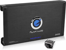 Novo! Planet Audio AC2600.2 2600W 2 Canais Mosfet Anarchy Series Amplificador Carro