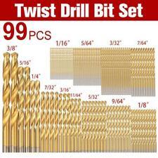 99pc Cobalt Drill Bits Set for Stainless Steel Metal HSS-Co Cobalt Bit Titanium