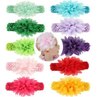 Flower Wide Hairband Hollow Weaving Headband Baby Hair Accessories for Baby Girl